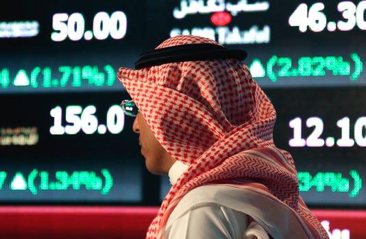Ap Aptopix Mideast Saudi Markets Opening I Sau