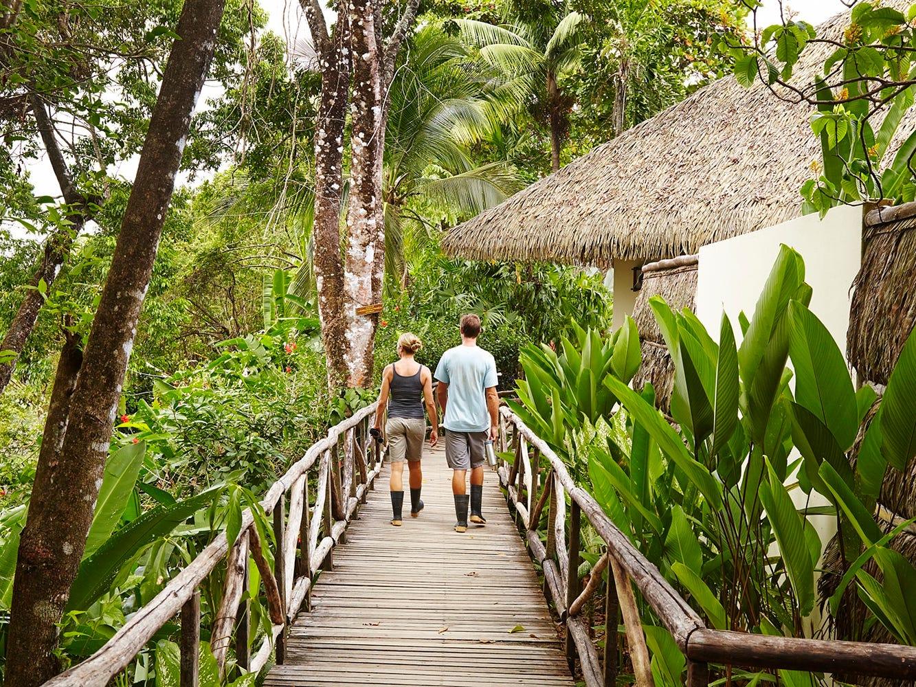 Rates at Lapa Rios Lodge vary depending on the season and begin at $280 per adult.