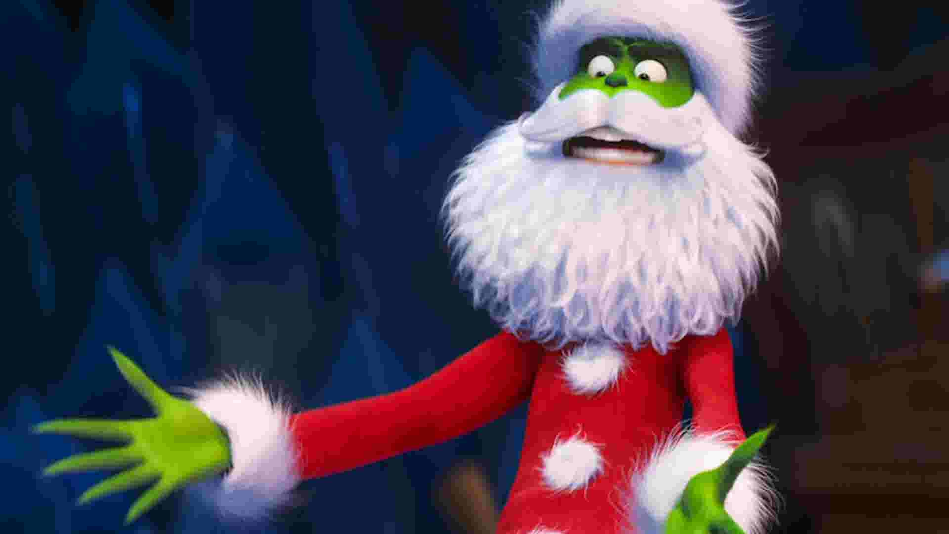 Benedict Cumberbatch Is A Mean One In The Grinch