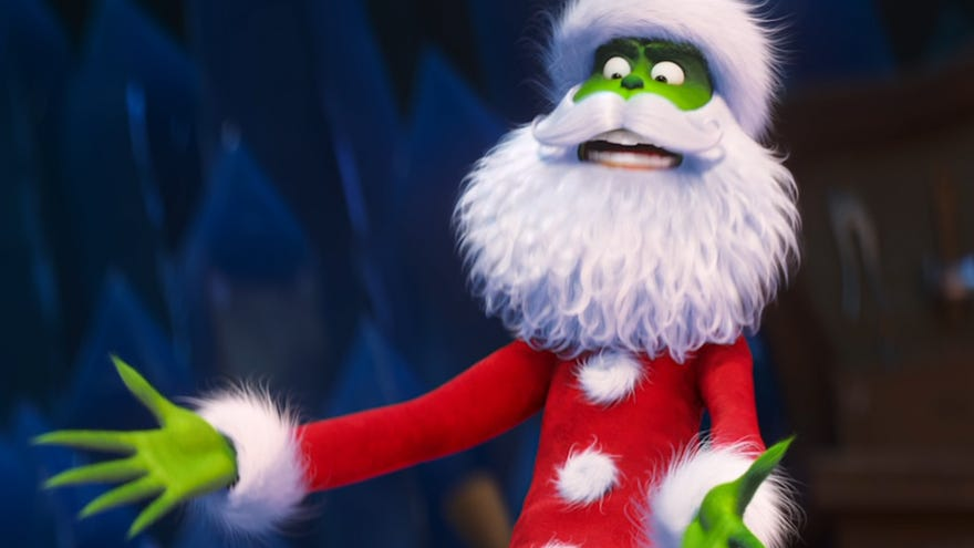 Benedict Cumberbatch is a mean one in 'The Grinch'