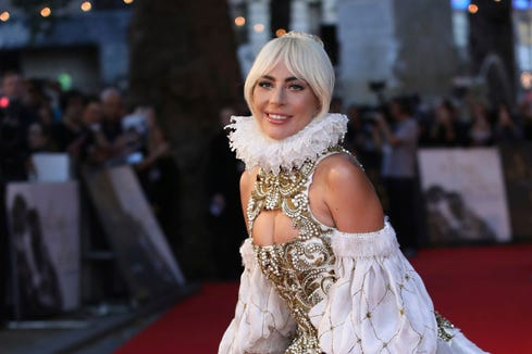 Lady gaga music from a star is born