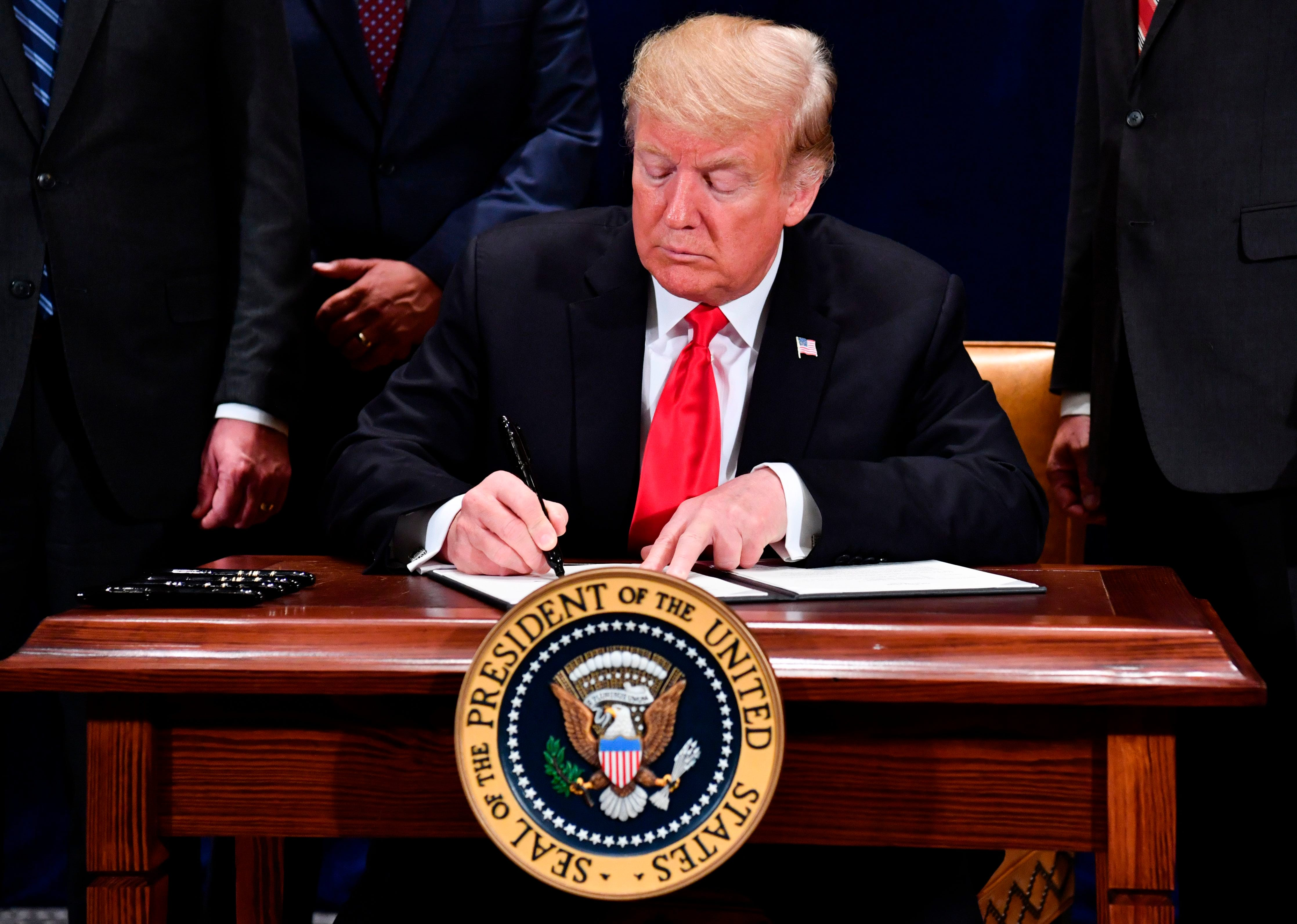 President Trump says he will consider sanctions if Saudis linked to Khashoggi's presumed death