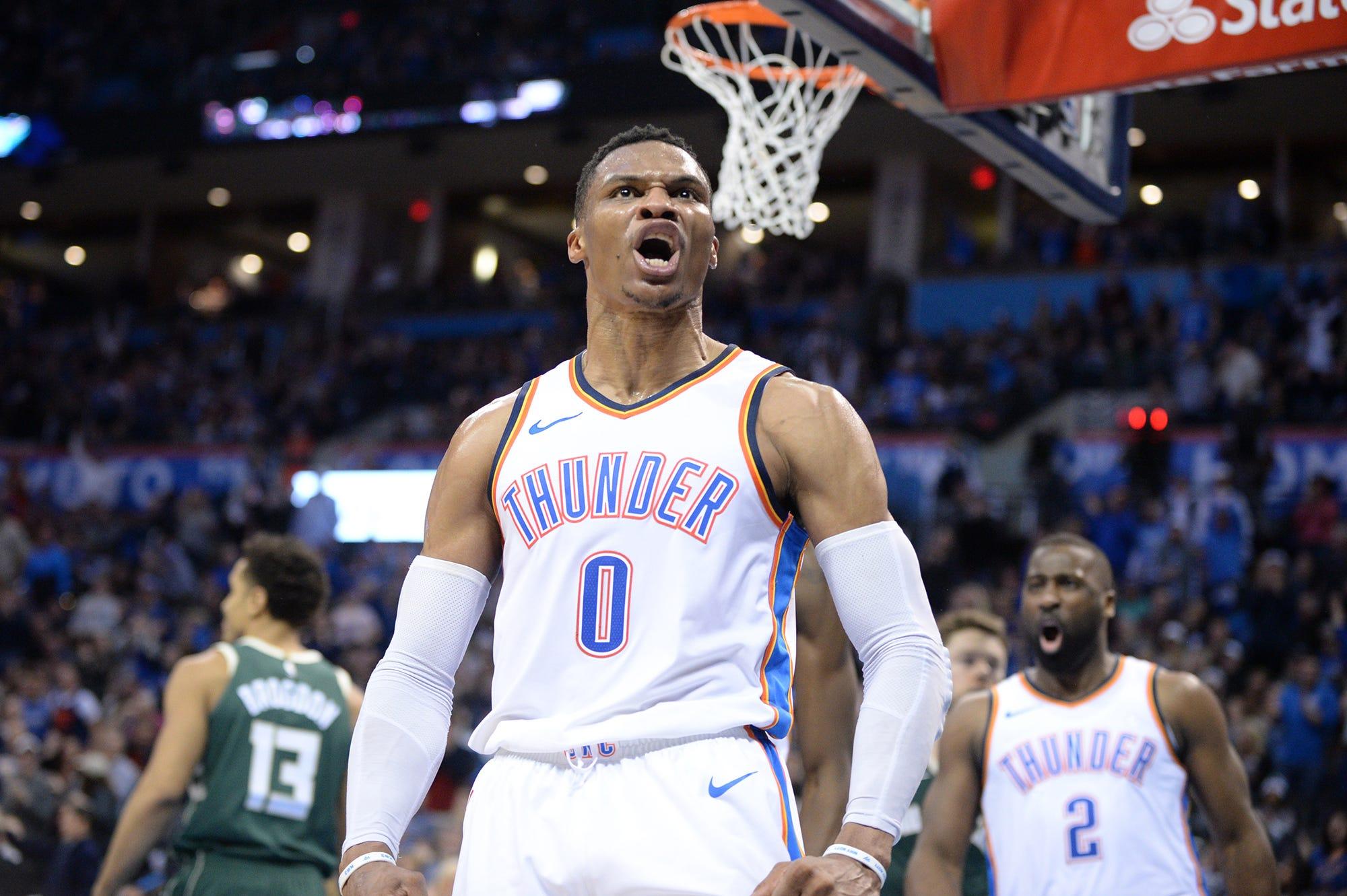 NBA triple-double tracker: 2018-19 season leaders