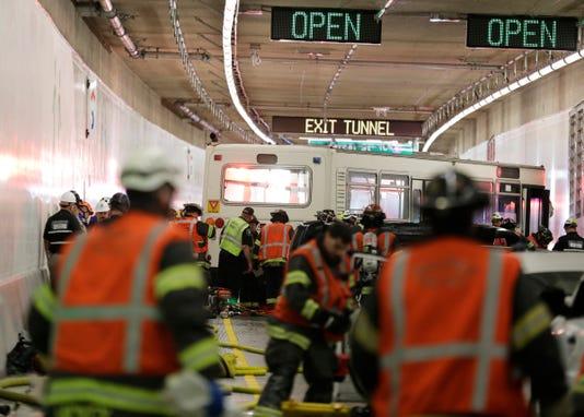 Ap Seattle Tunnel A Usa Wa