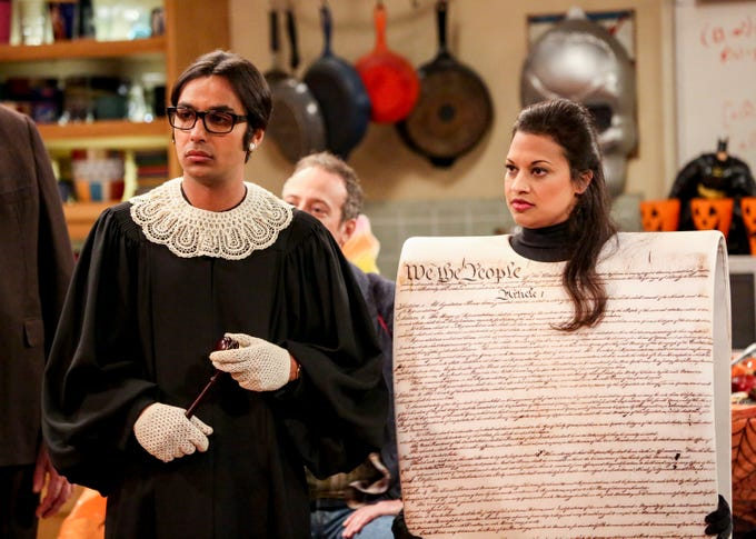 See The Outrageous Last 'Big Bang Theory' Halloween