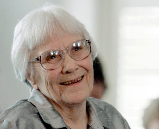 """To Kill a Mockingbird"" author Harper Lee"