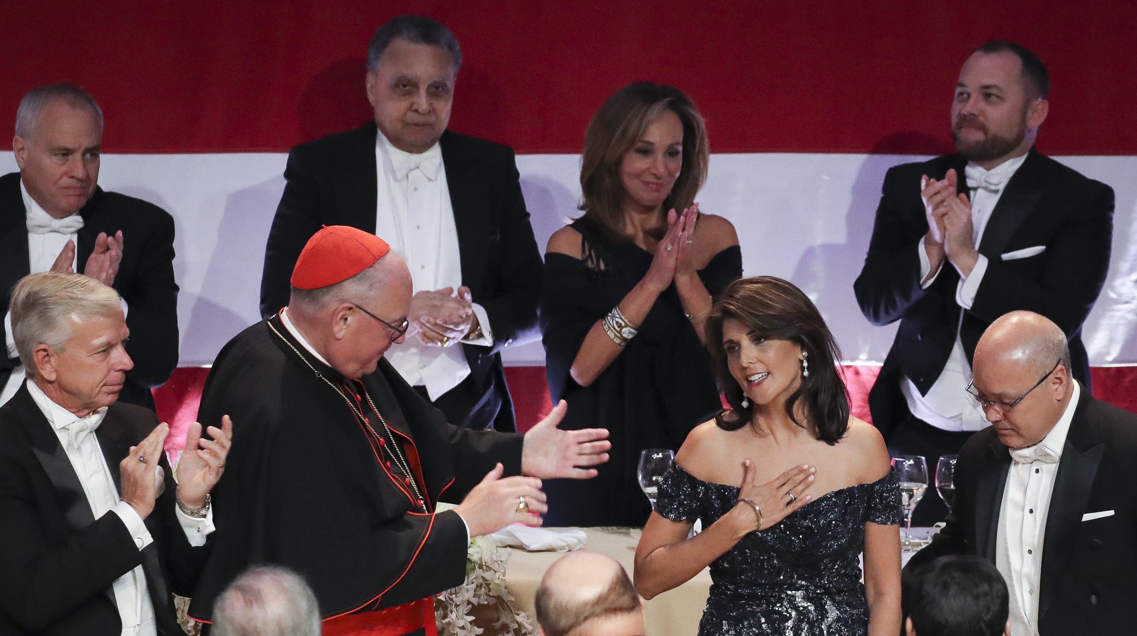 Nikki Haley pokes fun at her Indian roots — and Elizabeth Warren's
