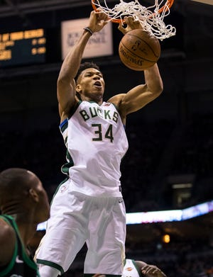 Giannis Antetokounmpo and the Milwaukee Bucks open up their sparkling new arena this season. If they hadn't, they could have been looking for another city in which to play.