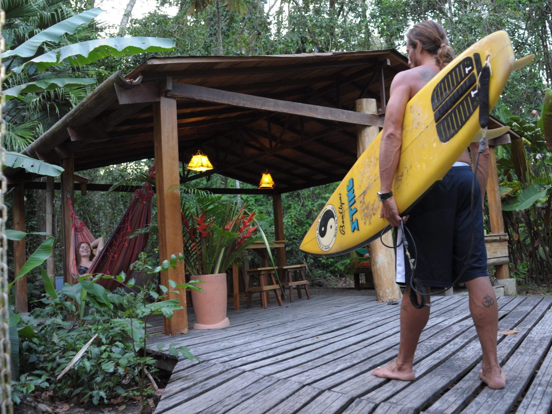 Those looking for an eco-lodge on the beach will want to check out the Costa Rica Tree House Lodge, which is convenient to Puta Uva beach.