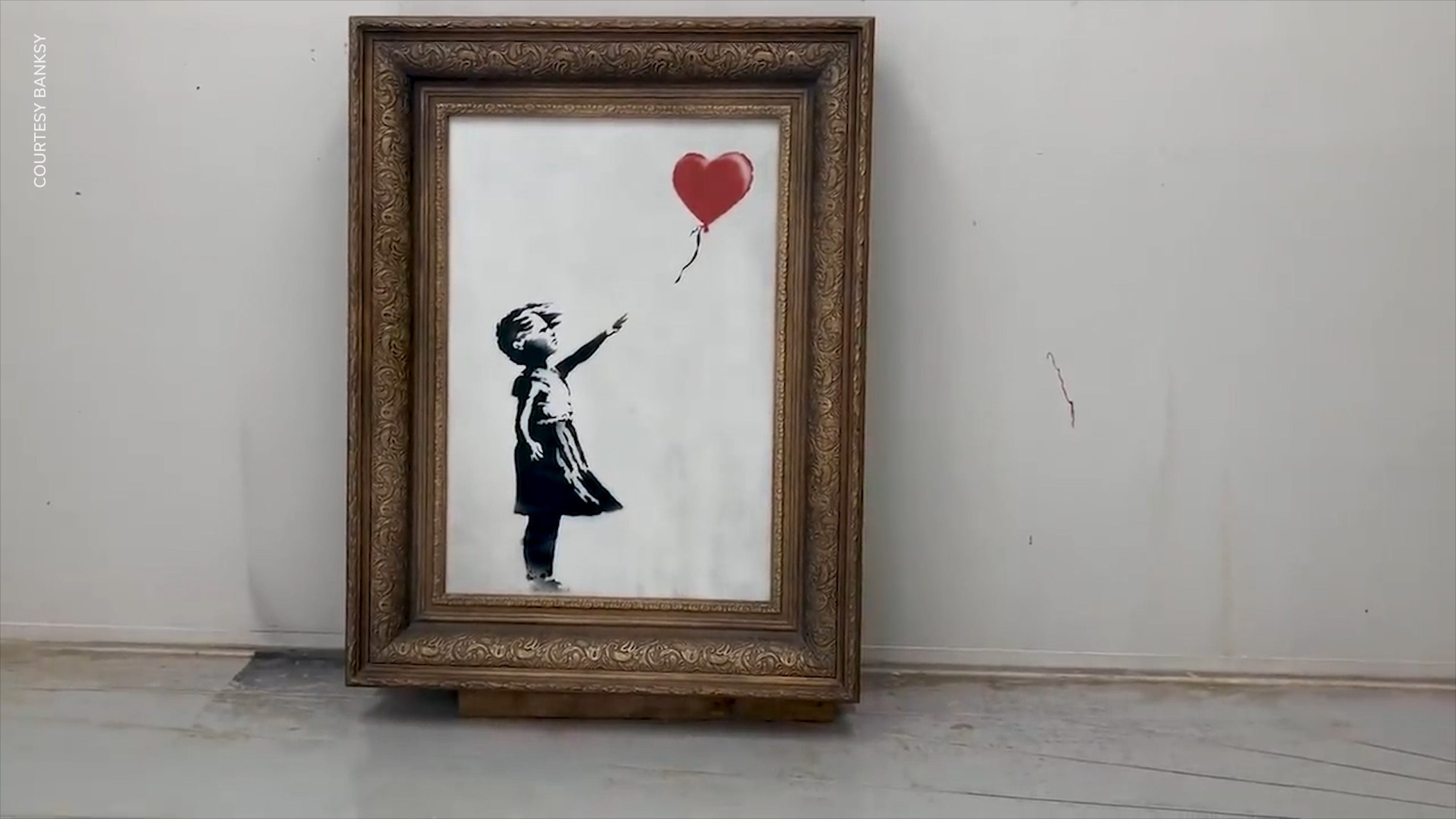 Banksy had different plan for shredded painting