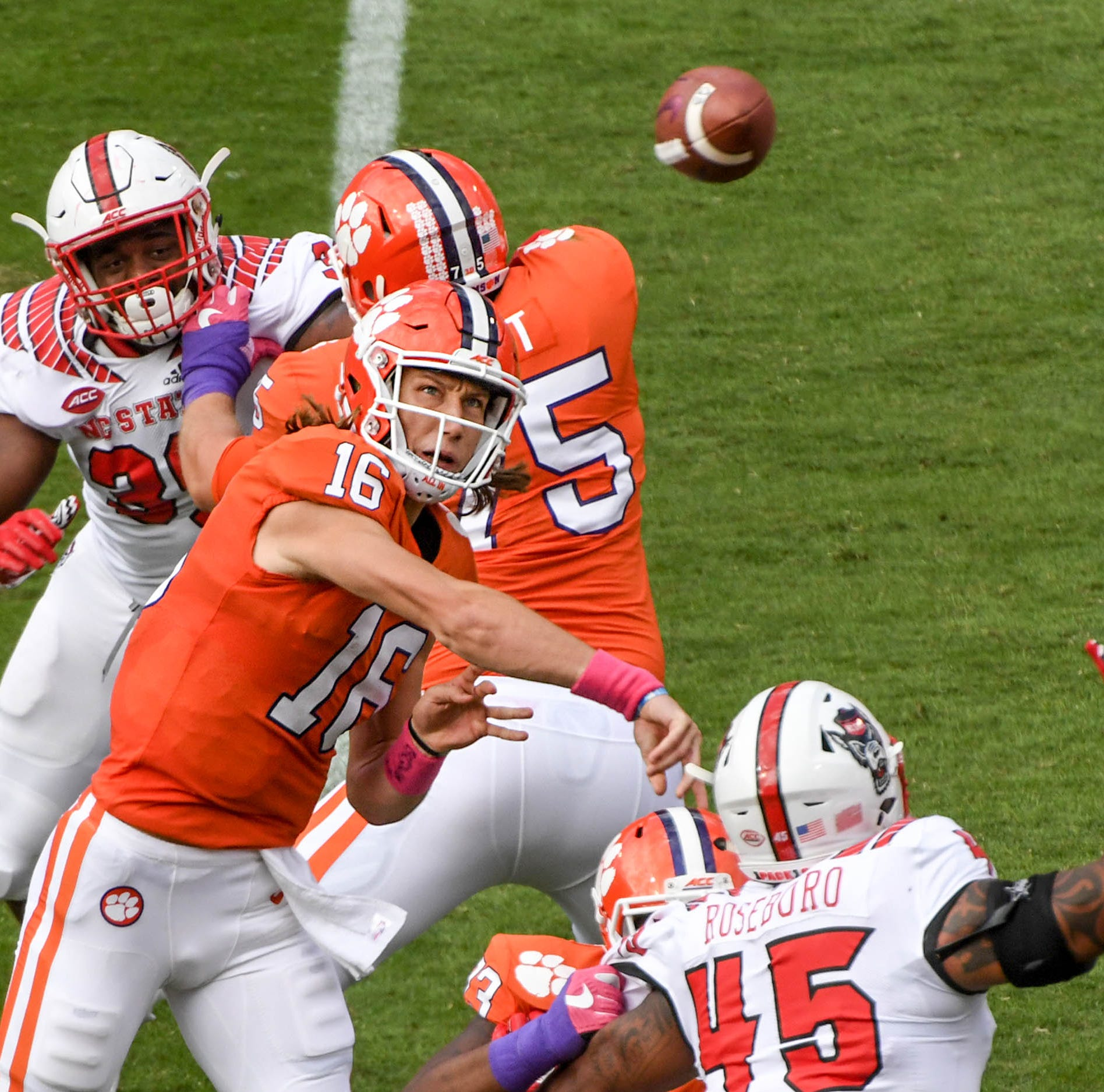 Clemson vs NC State live updates: Tigers defeat Wolfpack, improve to 7-0 on season
