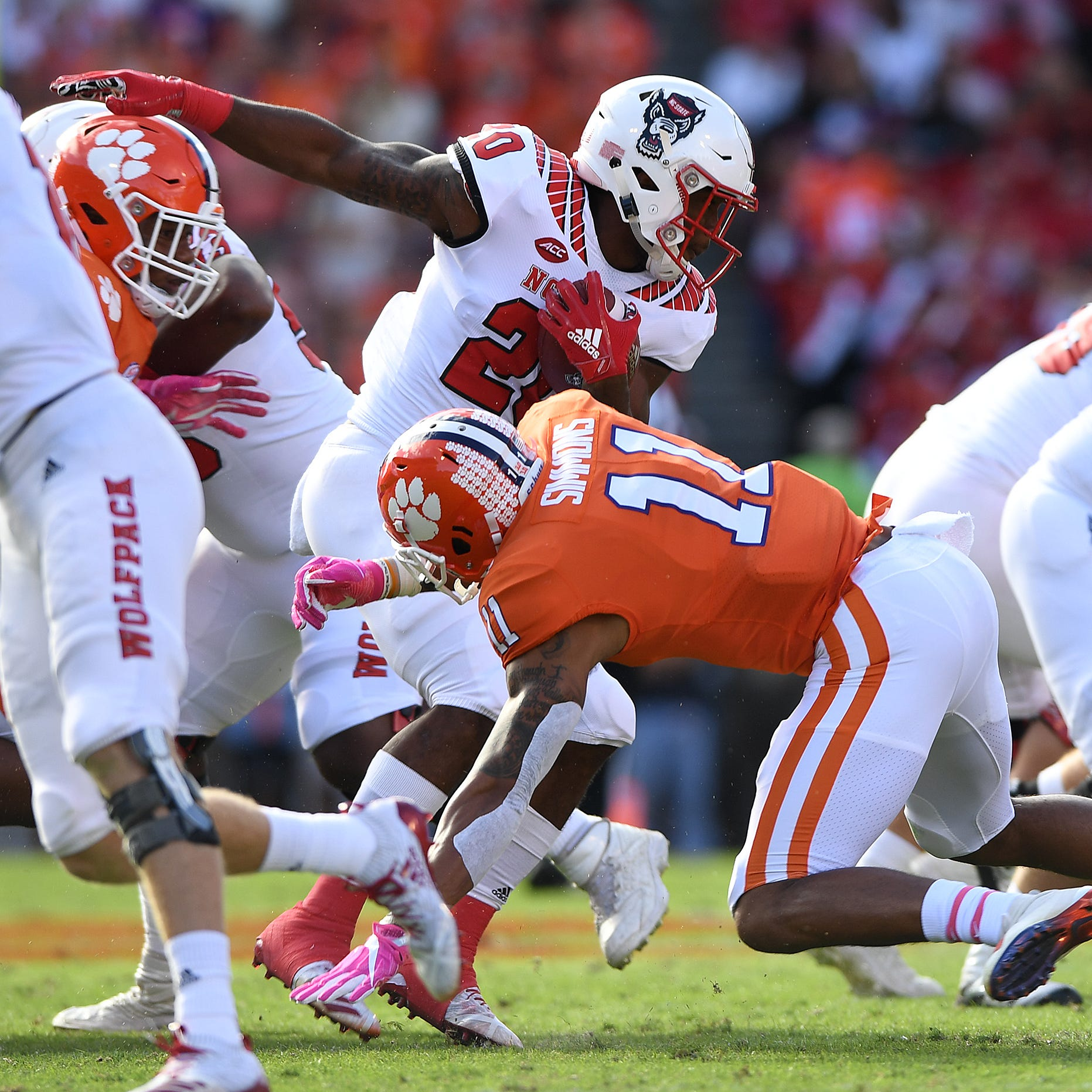 Pick 6: Notable numbers after Clemson's beatdown of NC State