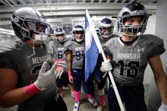 A look back at the opening round of the WIAA football playoffs in the Post-Crescent coverage area