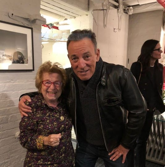 Bruce and Dr. Ruth