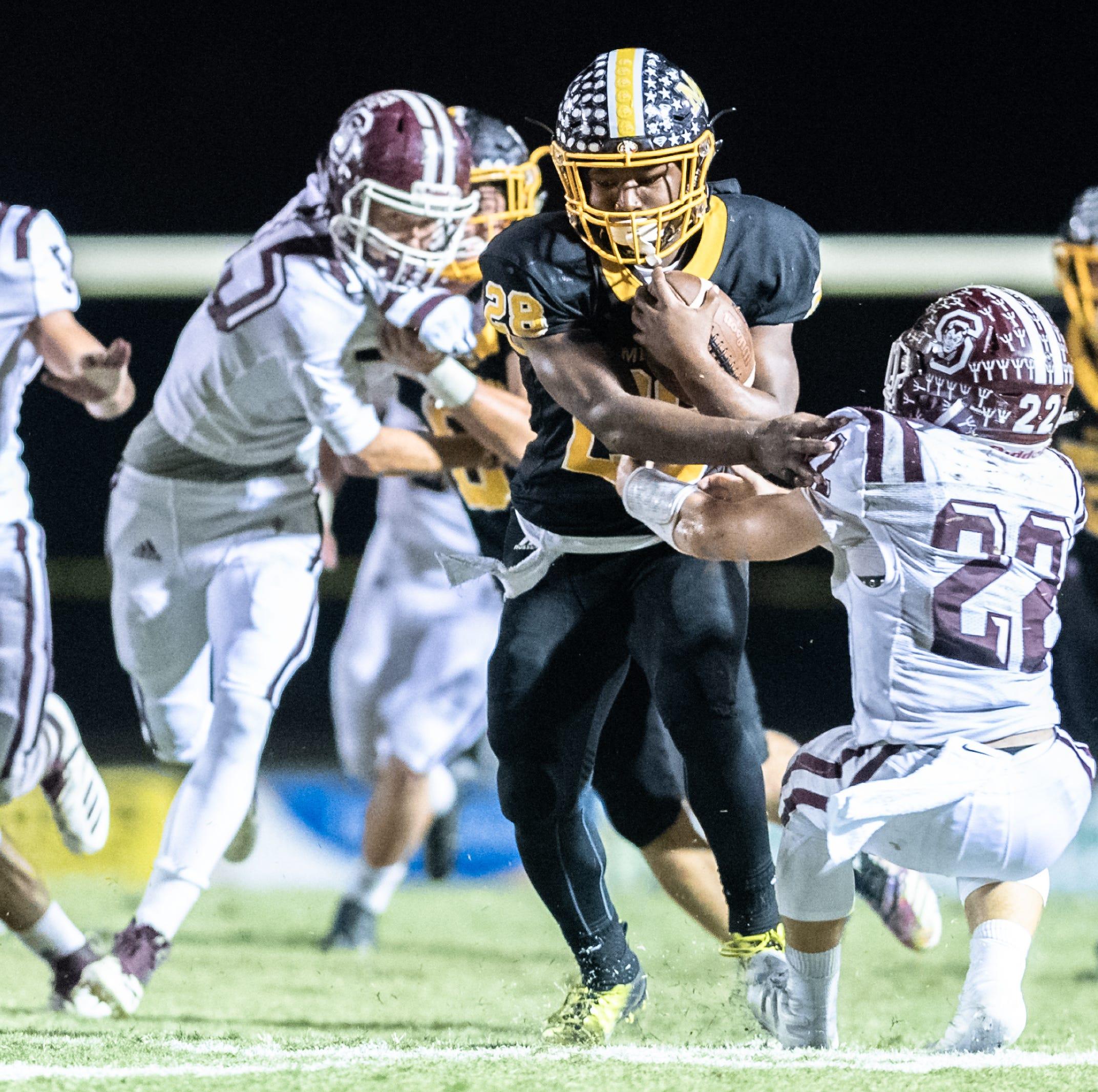 WNC high school football: Second-round pairings