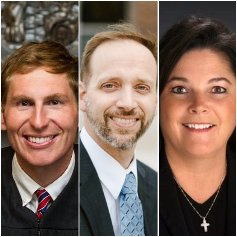 NC Court of Appeals: Griffin, Hampson and Ray running for Seat 2
