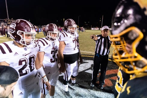 Murphy high school hosted Swain County for their Friday night football game Oct. 19, 2018.