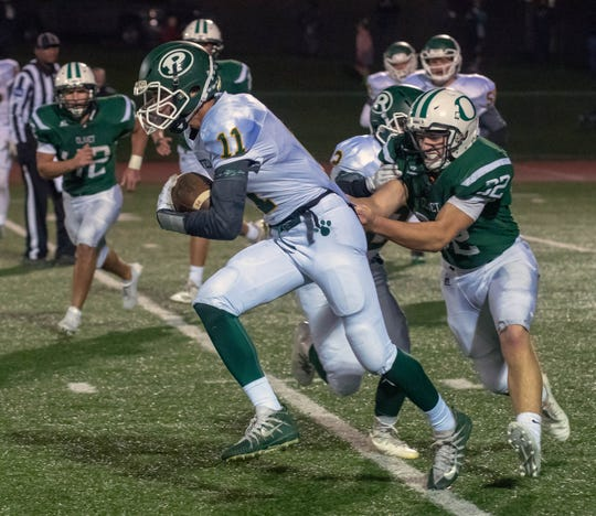 Sam Whitelock Breaks A Tackle: Olivet Tunes Up For Playoffs With Convincing Win Over