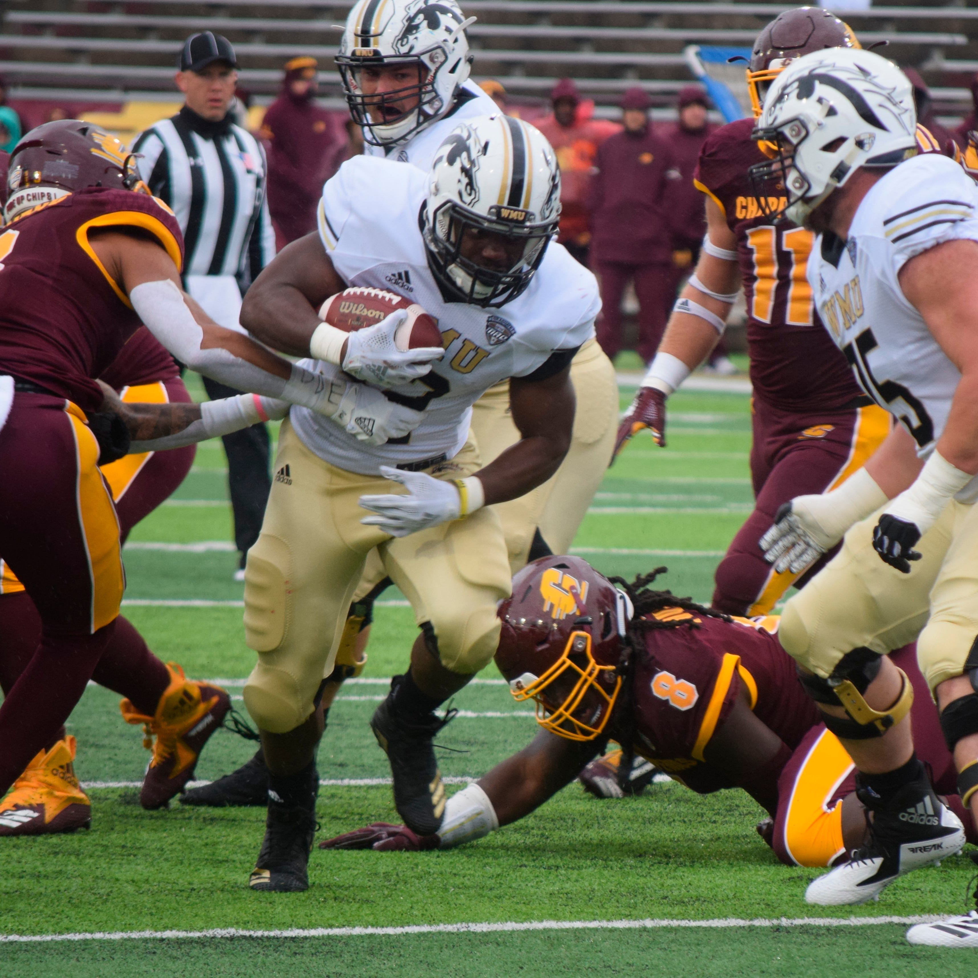 In the other in-state rivalry, Western Michigan beats Central Michigan