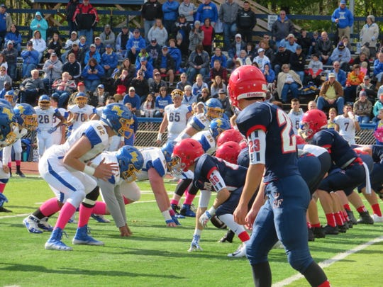 Chenango Forks hosted Maine-Endwell in a battle of undefeated teams on Saturday, Oct. 20, 2018. Forks won, 24-14.