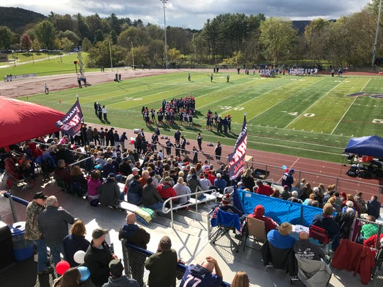 Nice turnout for Section 4's regular-season football Game of the Year.
