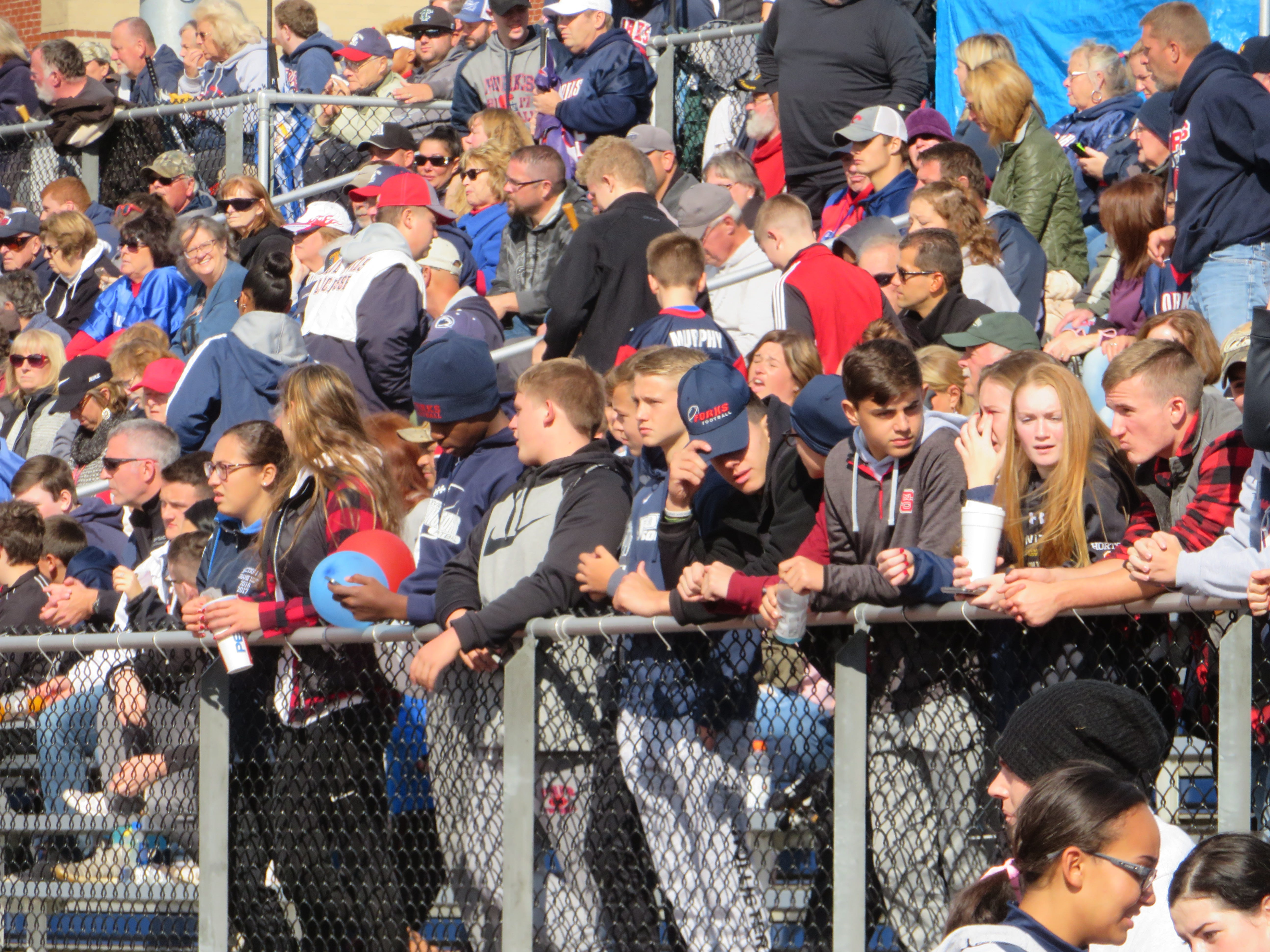 Chenango Forks hosted Maine-Endwell in a battle of undefeated teams on Saturday, Oct. 20. Forks won, 24-14.