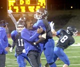 Olympic's football team beat Bremerton 34-27 in the Kitsap Sun Game of the Week on Oct. 19, 2018.