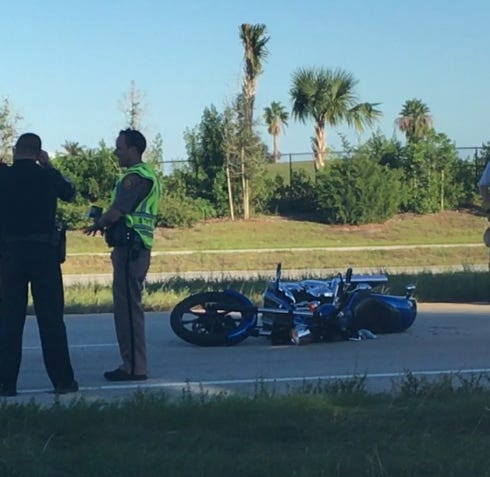 Motorcyclist injured in Indian River County crash