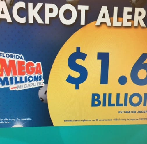 Wow! No one won Mega Millions; now record $1.6 billion