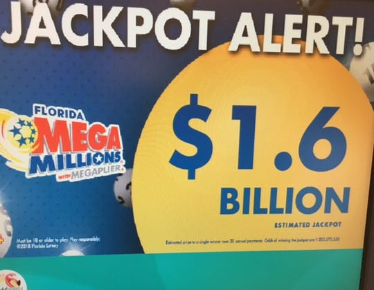 Mega Millions has reached an all-time high for any game played in the U.S.