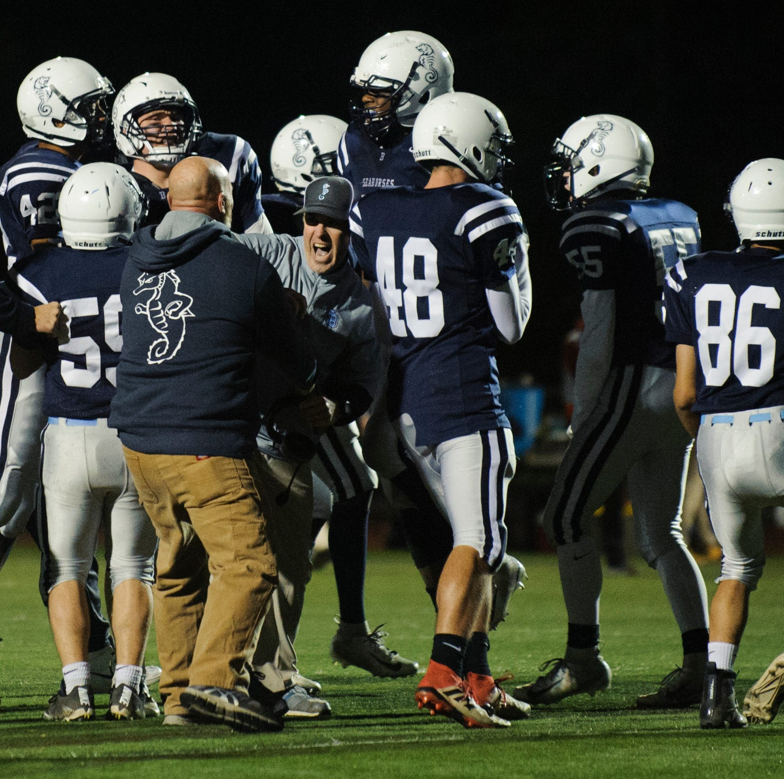 Vermont high school football: SeaWolves win OT classic to snare playoff spot