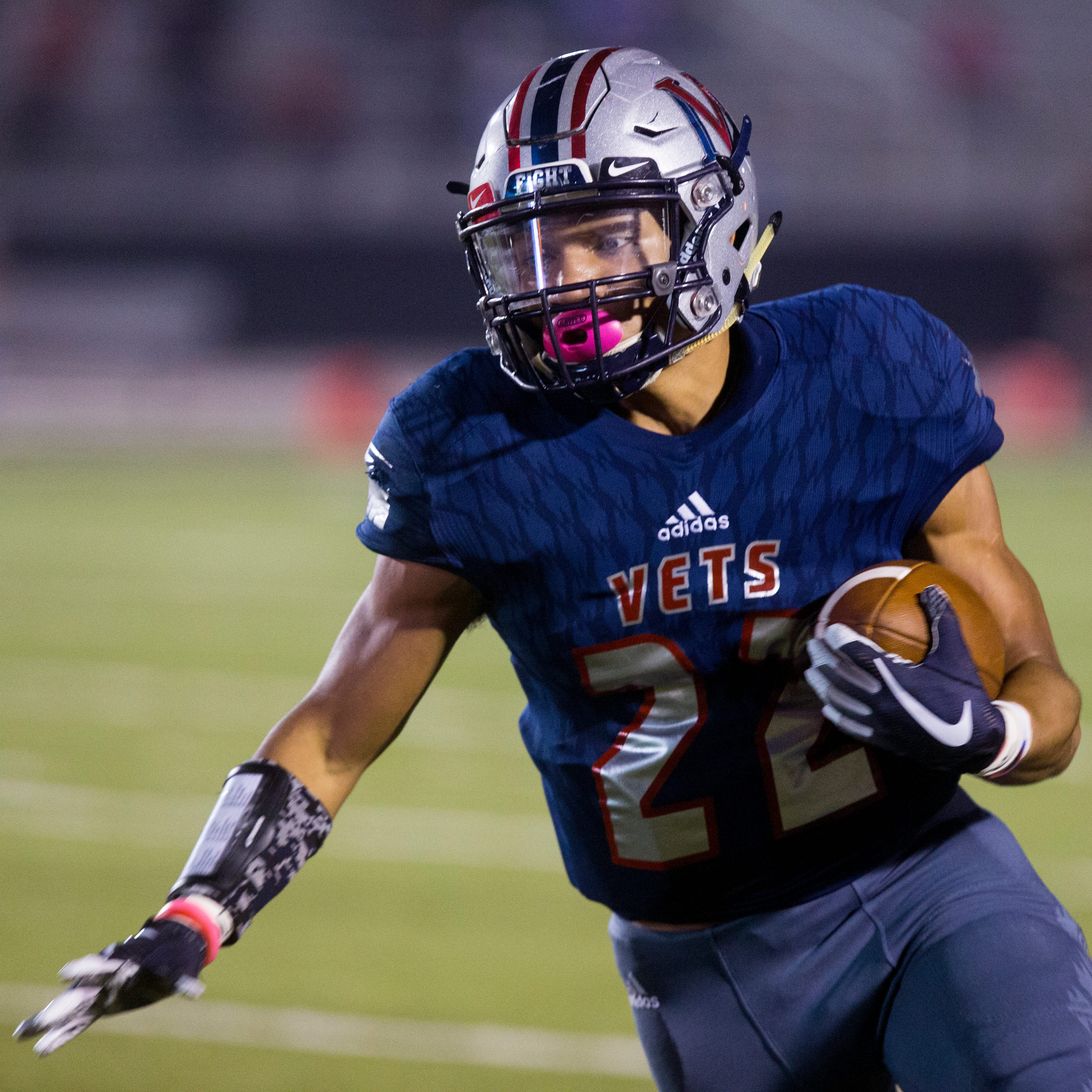 Texas high school football statewide scores -- Week 8