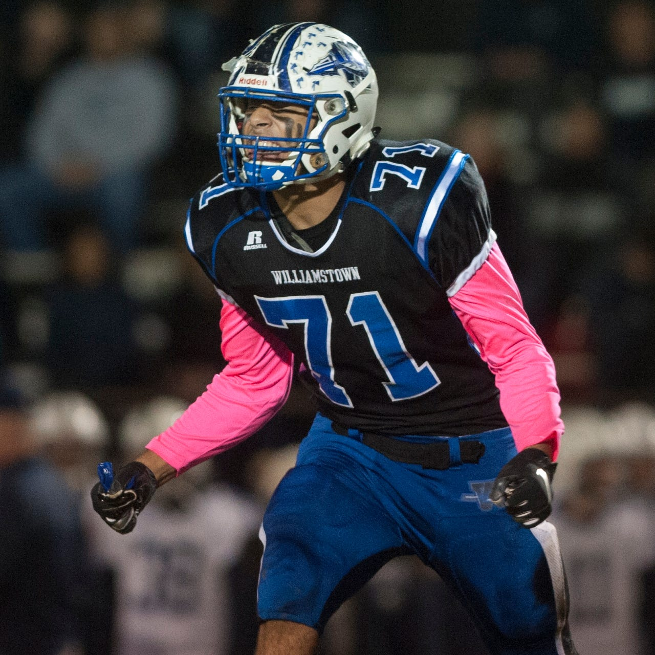 South Jersey football: Williamstown standout Aaron Lewis commits to West Virginia