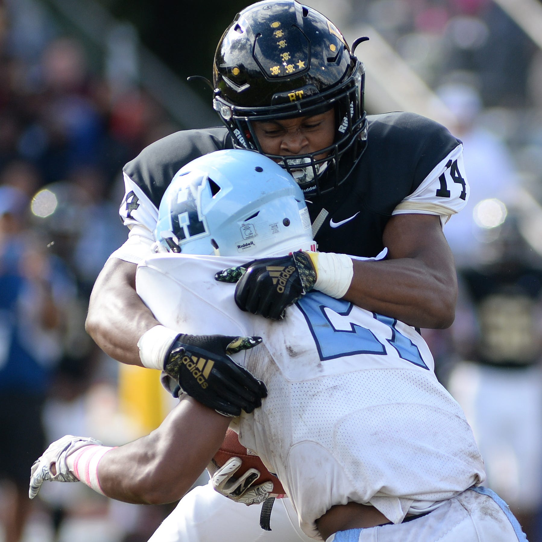 South Jersey Football: Burlington Twp. tough enough against Highland