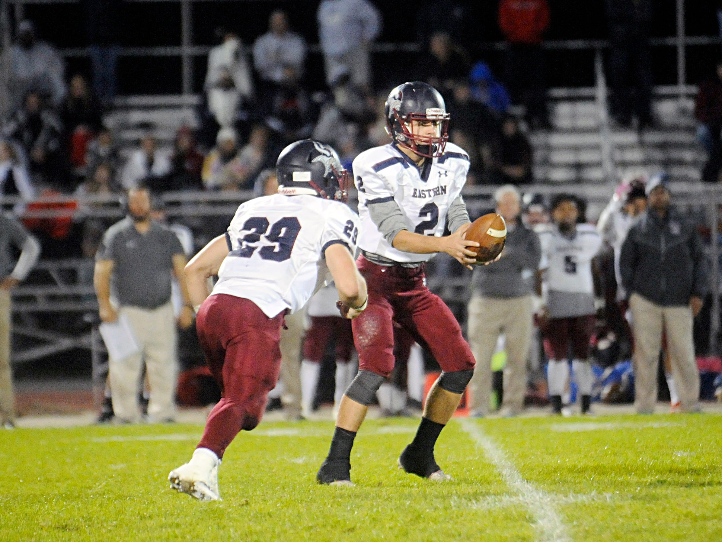 H.S. football: Eastern finds another way to extend winning streak to six