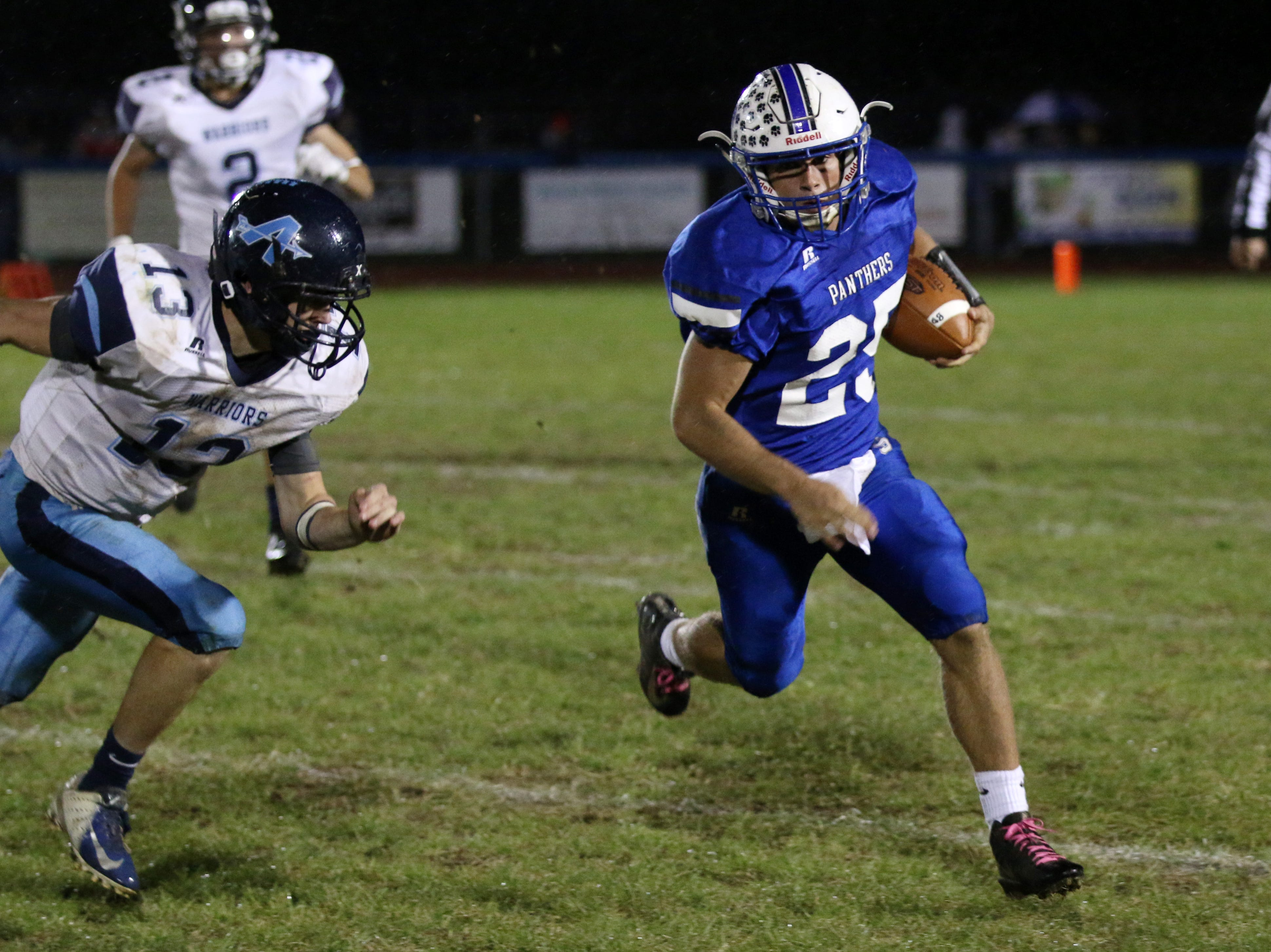 Adena defeated Southeastern at Southeastern High School Friday night 33-30.