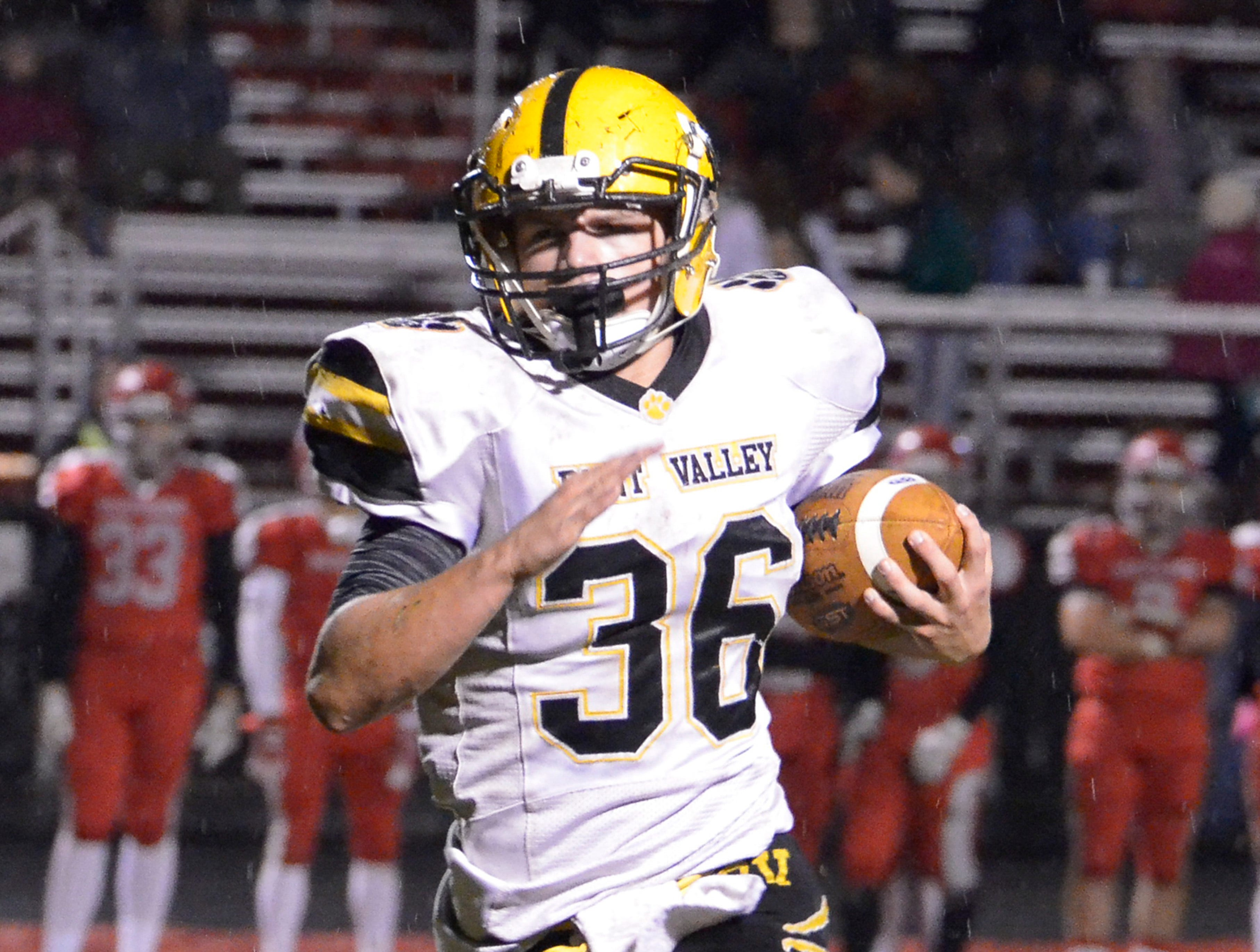 Paint Valley defeated Westfall Friday night at Westfall High School 34-14.