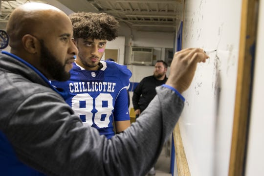 Q&A with Chillicothe High School football's Courtland Duncan