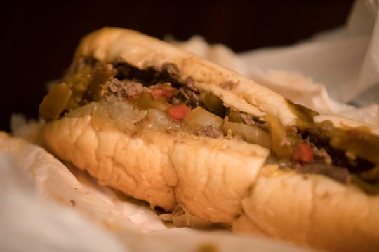 Cheesesteak with Peppers and Wiz From on Friday, Oct. 19, 2018.