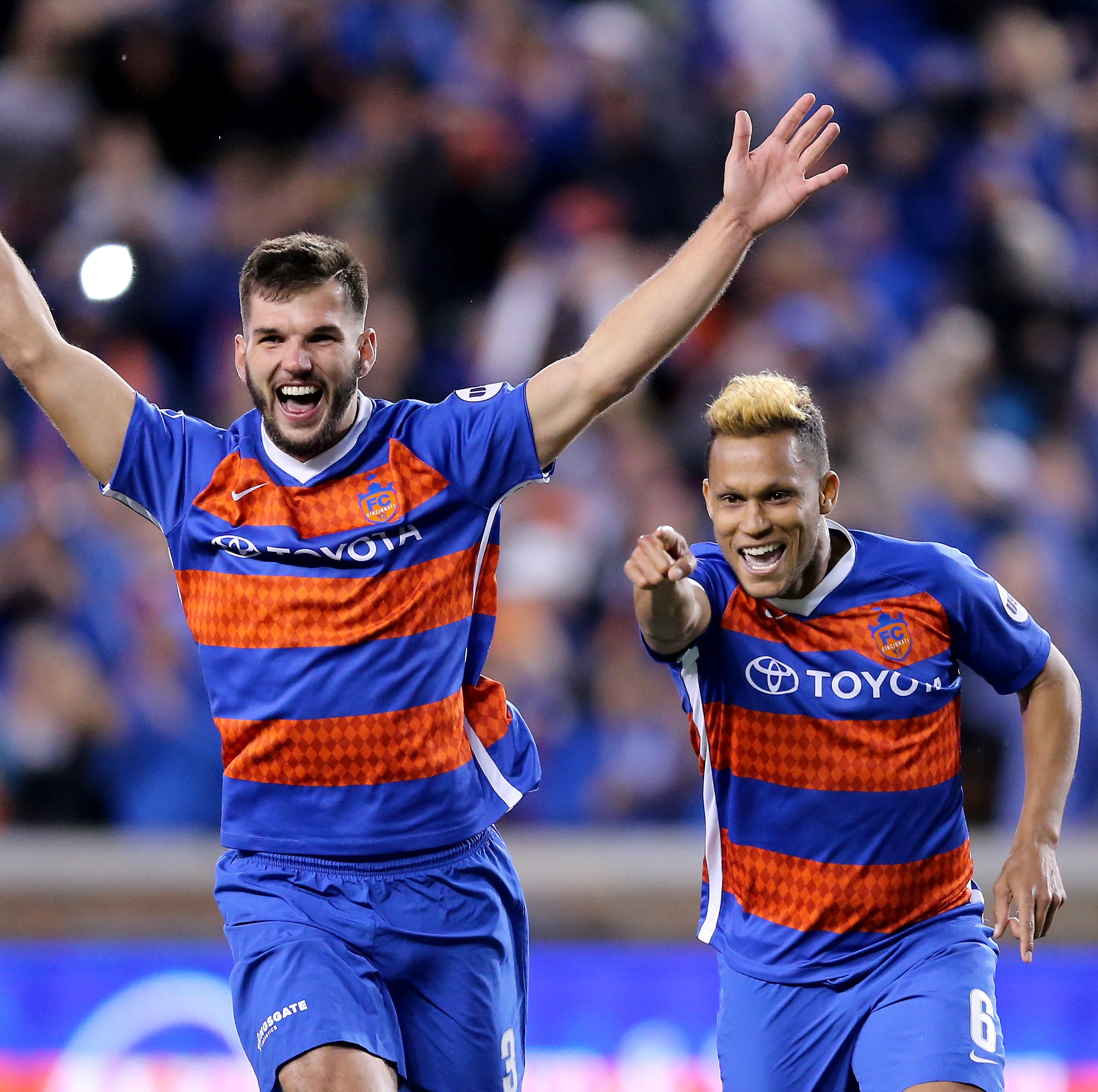 FC Cincinnati advances in USL Cup playoffs, defeating Nashville in penalty kicks, 6-5