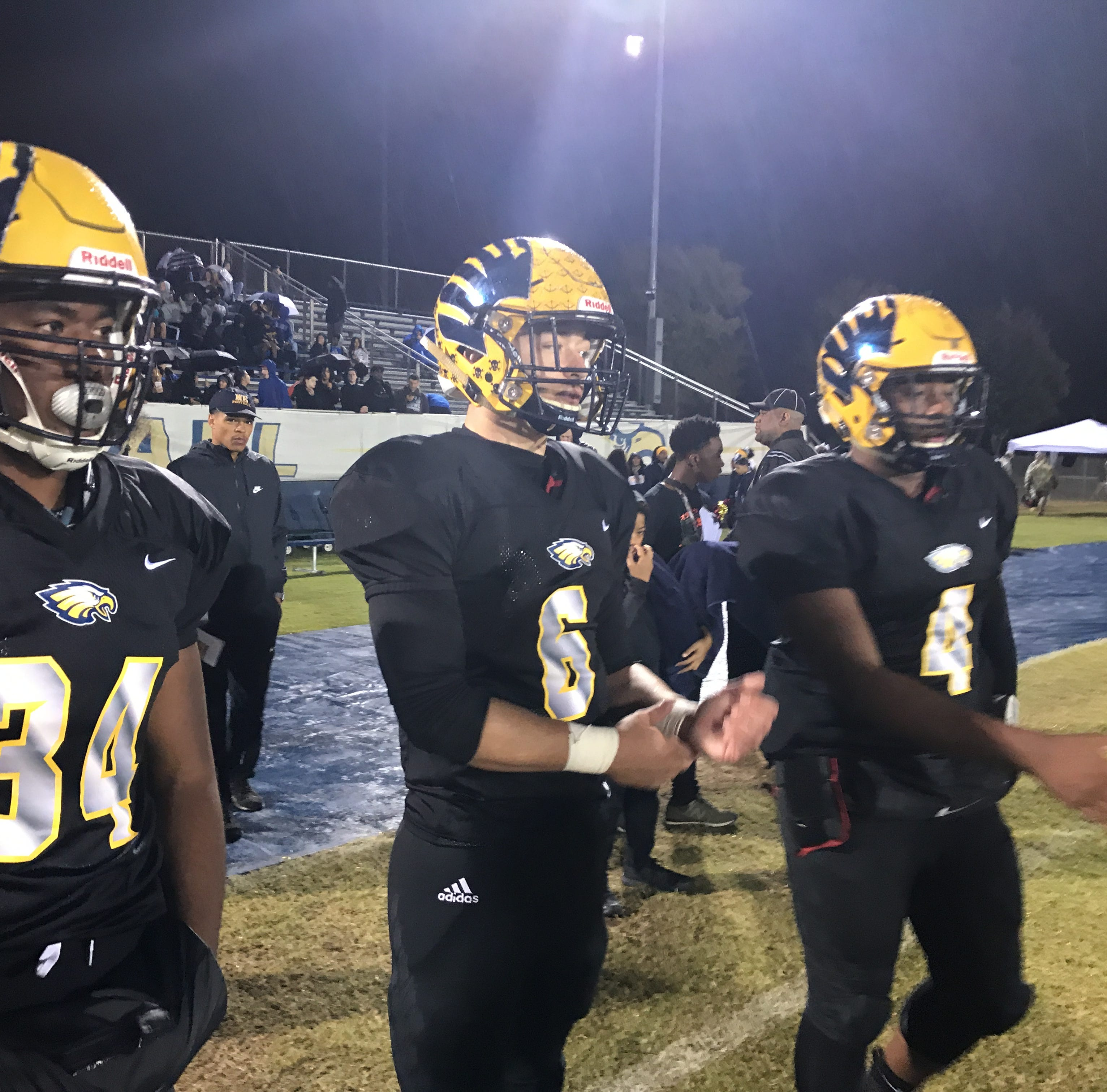 Northeast quarterback, running back wearing jersey numbers of former standouts Jalen Reeves-Maybin, Travis Stephens for crucial region game