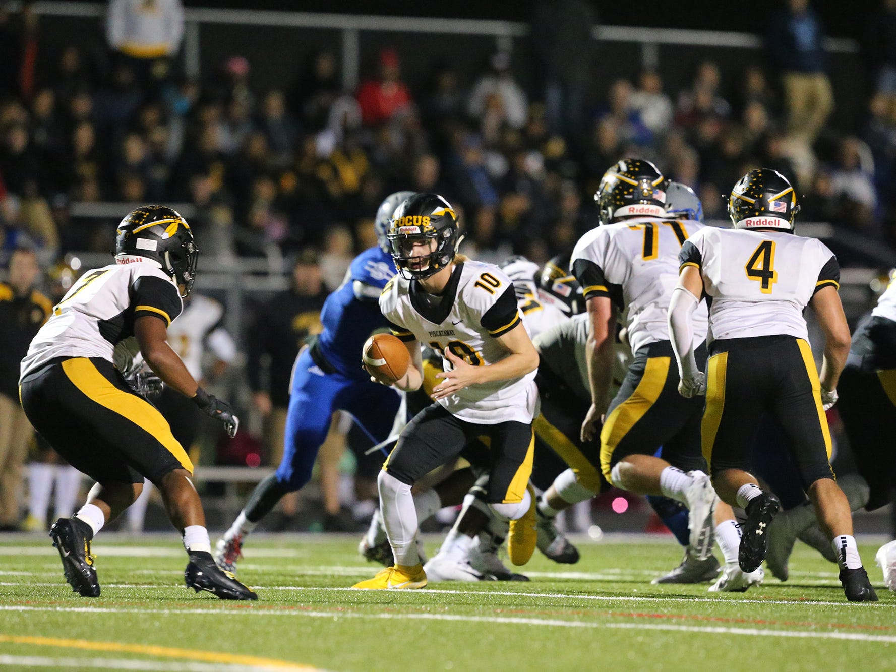 Piscataway at Sayreville football on Friday, Oct. 19, 2018.