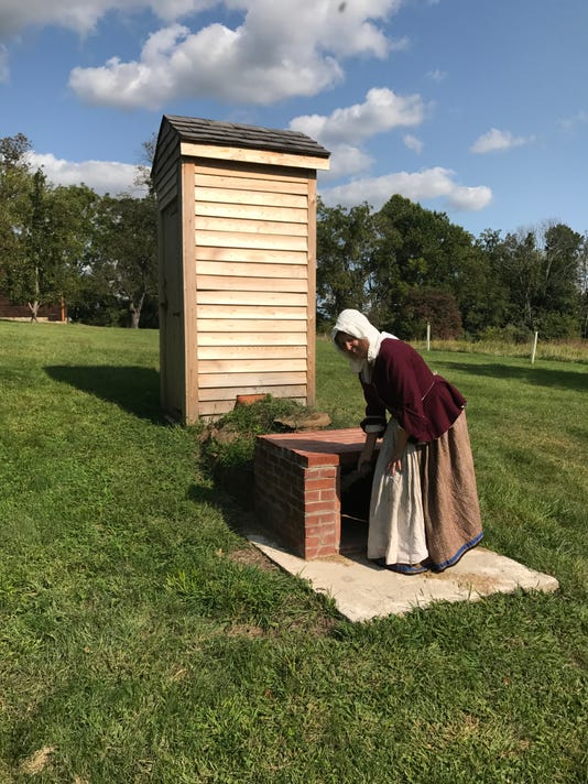 18th-century smokehouse demo on Nov. 4 PHOTO CAPTION