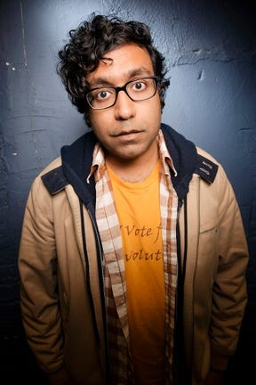 Comedian Hari Kondabolu.