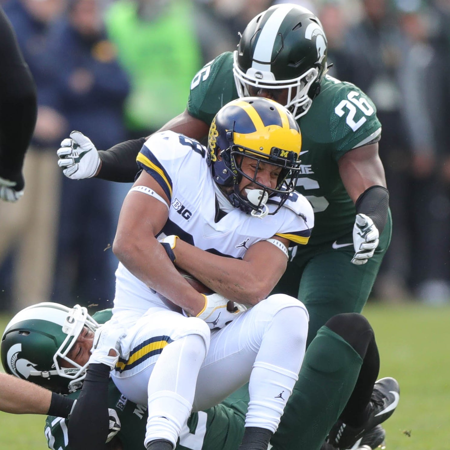 Michigan football vs. Michigan State football: First-half observations