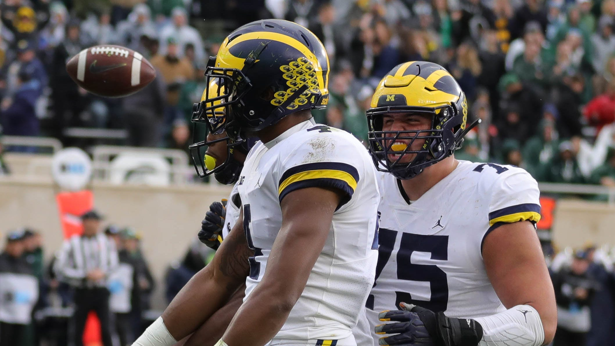 No. 7 Michigan proves too tough for rival Michigan State to stay unbeaten in Big Ten