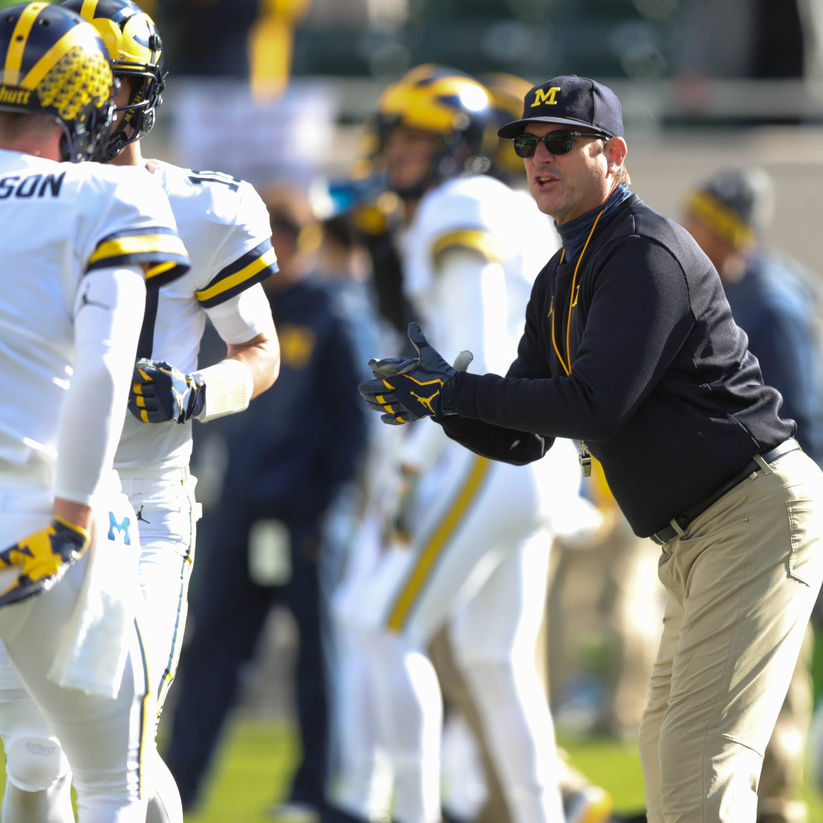 What does Michigan football's win over MSU mean for Jim Harbaugh?