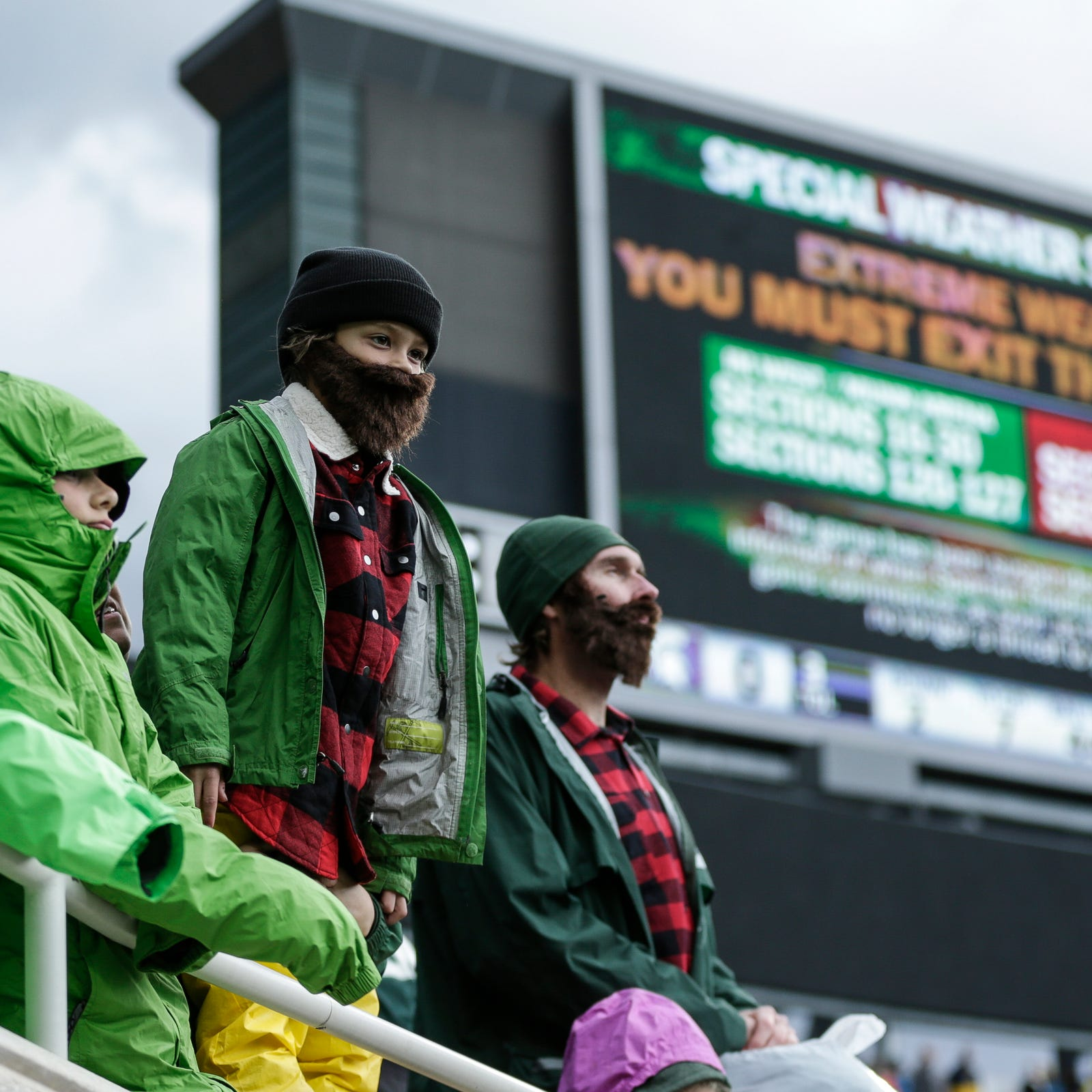 Inside the wild weather delay at Michigan-MSU football game