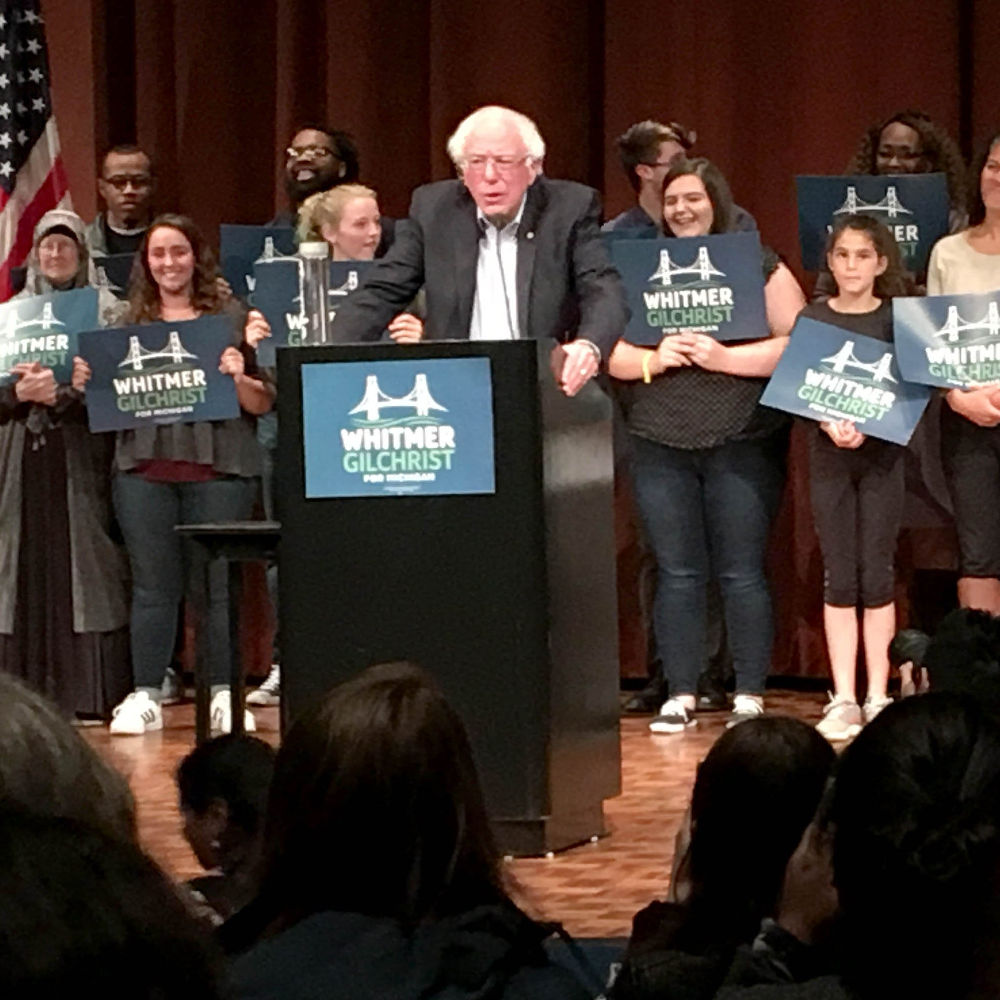 Sen. Bernie Sanders to Ann Arbor crowd: Don't repeat 2014 low turnout