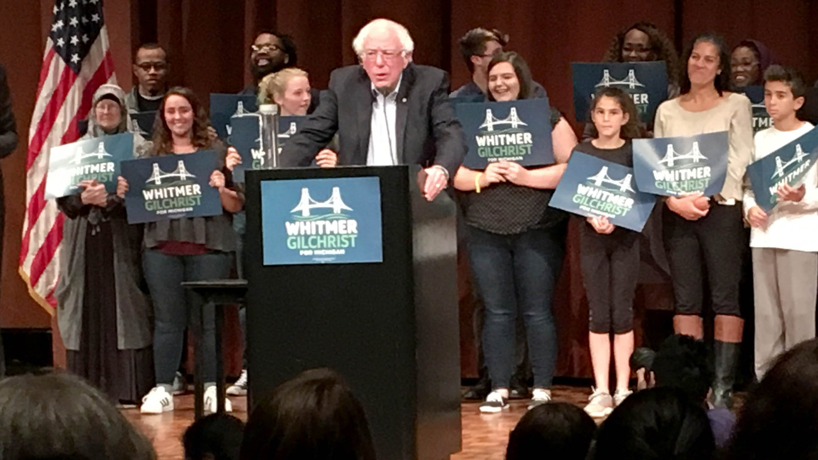 Sen Bernie Sanders Rallies Voters Ahead Of Nov 6 Election
